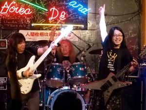 2015年5月4日 アーリー爆風 3Days 江川ほーじんファンキー末吉with小畑秀光 八王子Live Bar XYZ