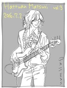2016年7月2日『はっつぁん祭2016』 ~加賀八郎メモリアルチャリティーLIVE vol.3~